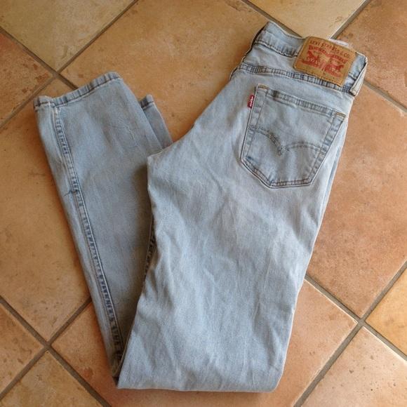 c8ade160 Levis Mens jeans pants 30x32 light wash slim fit